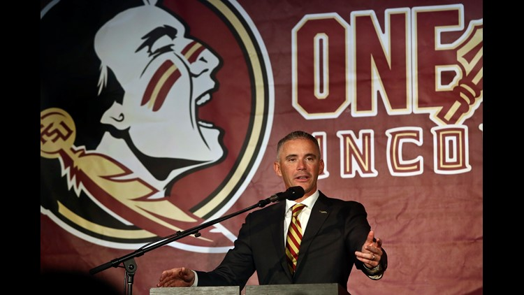 """Behind-the-scenes of """"culture building"""" with new FSU head coach Mike Norvell"""