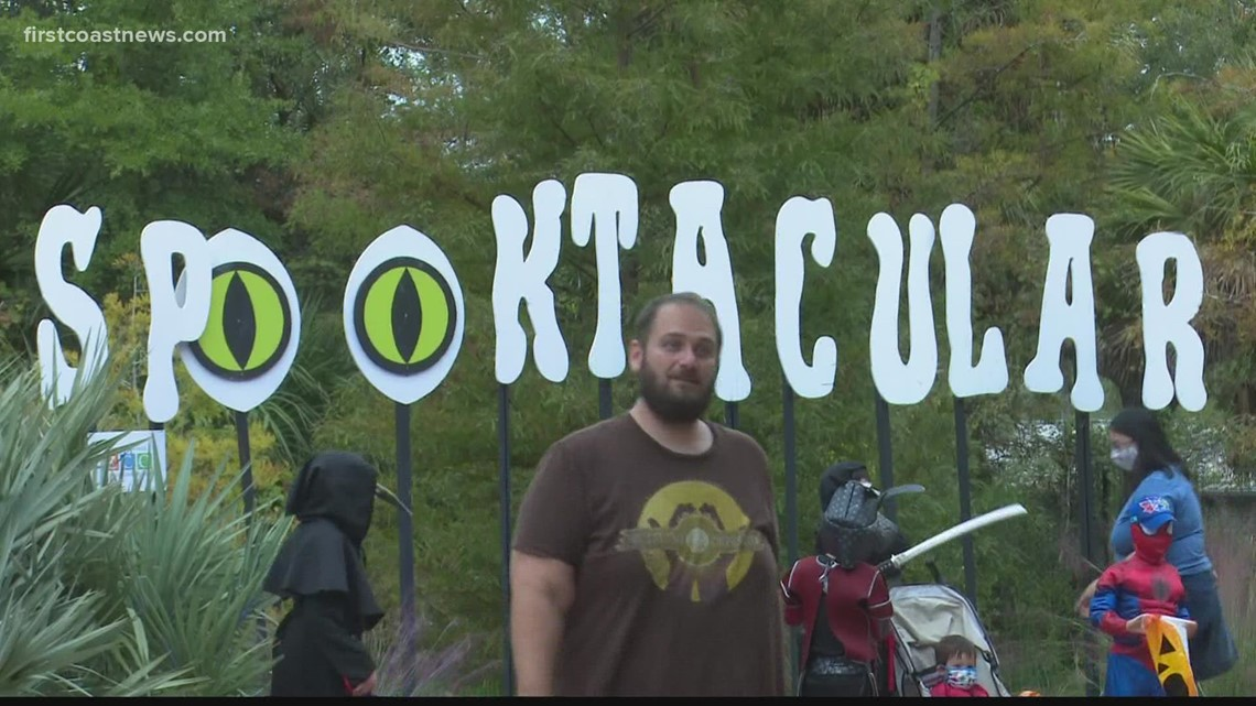 34th annual Spooktacular event held at Jacksonville Zoo and Gardens