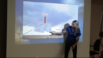 Help the National Weather Service by becoming a storm spotter