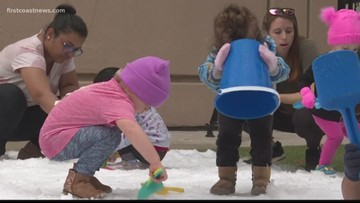 Preschoolers get 'snow day'  in Jacksonville thanks to teachers STEAM education project