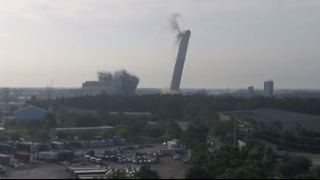WATCH: JEA implosion at St. Johns River Power Park goes off without a hitch