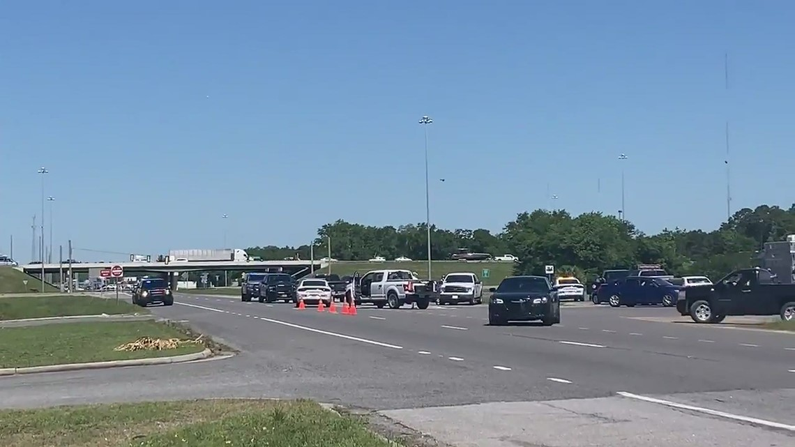 SWAT situation at truck stop at Highway 17 and I-95 in Brunswick