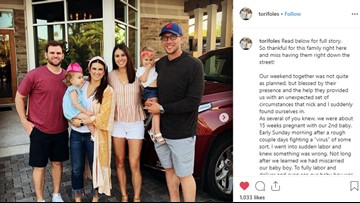 Nick Foles' wife opens up about the couples' recent miscarriage