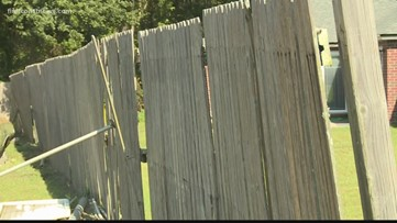 Homeowner complains fence contractor failed to finish the job