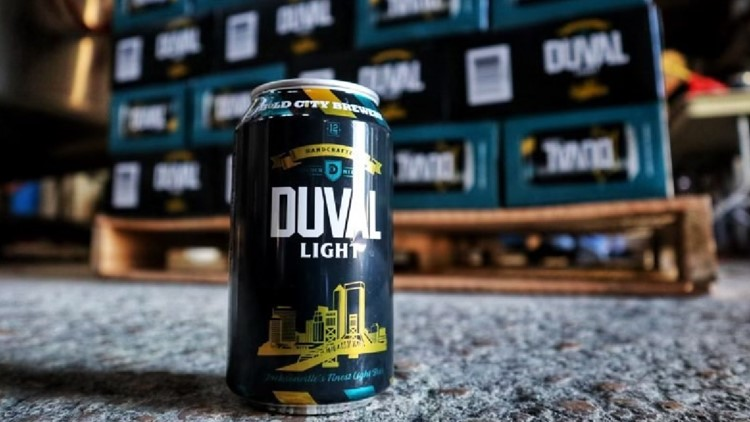 Jacksonville brewery to release 'Duval Light' beer ahead of 2021 NFL Draft