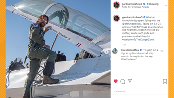 Jaguars' Gardner Minshew flies with USAF Thunderbirds, gets trolled by Dede Westbrook