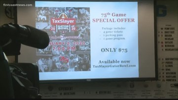 Tax Slayer Gator Bowl moves festivities to TIAA Bank Field/Daily's Place
