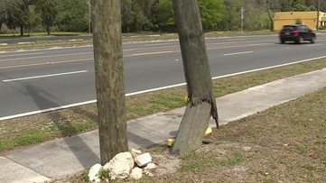 On Your Side sees results: Hazardous utility pole removed from front of Jacksonville school after a year of complaints