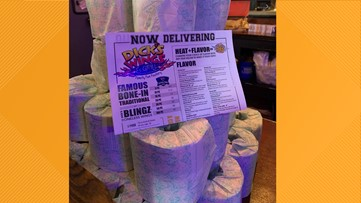 Jacksonville sports bar now giving away toilet paper with each meal order