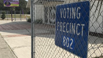 Coronavirus concerns result in low voter turnout in Duval County Tuesday