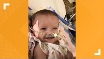 Holding out for a heart: St. Augustine 1-year-old continues to wait for heart transplant after a year in the hospital