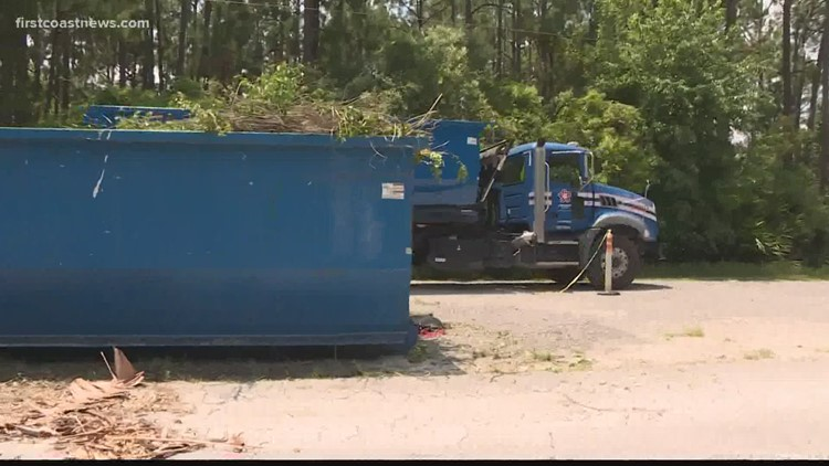 St. Johns County residents forced to drop off yard debris due to staffing shortages