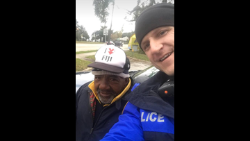 St. Augustine officer gives homeless 77-year-old enough money to buy a bike
