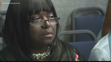 Jacksonville mom accepts son's diploma while he's in ICU