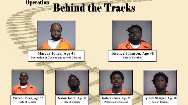 6 arrested in Fernandina Beach cocaine dealing investigation