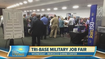 Learn more about the Tri-Base Military Job Fair this Wednesday (FCL September 16th)