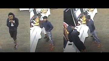 VIDEO: Robbery suspects sought after phones stolen from Jacksonville Beach Sprint store