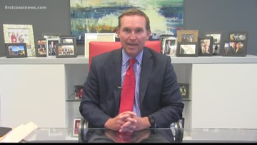 Mayor Lenny Curry says new budget continues to support law enforcement