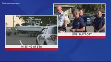 JFRD, Coast Guard give 6 p.m. update regarding search for missing firefighters