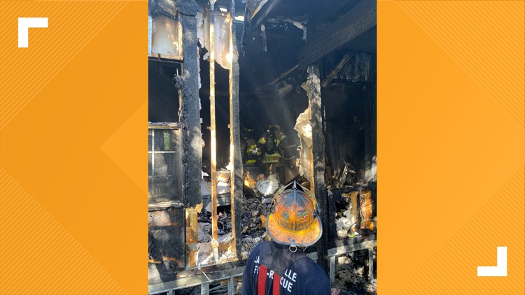 oceanway mobile home fire