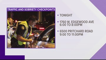 JSO conducting sobriety checkpoints around Northwest Jacksonville