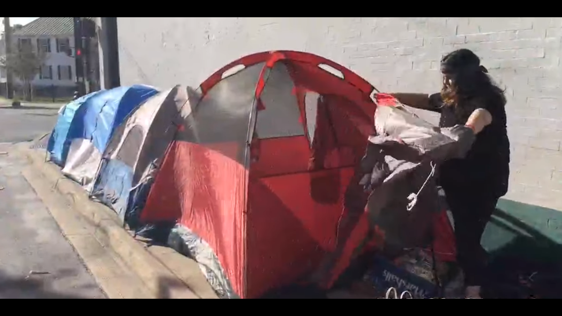 Twenty One Pilots fans sleeping in tents in downtown Jacksonville ahead of bands' Friday concert
