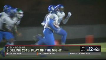 Play of the Night: Trinity Christian's Rasheed Martin
