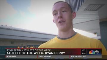 Athlete Of The Week: Ryan Berry