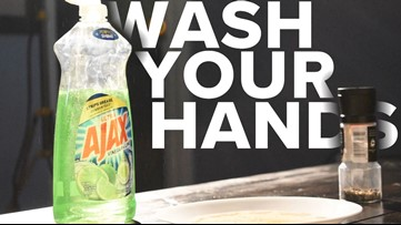 The science of hand washing