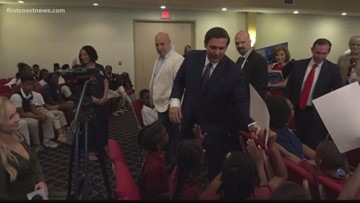 Governor Desantis, Mayor Curry discuss issues facing schools