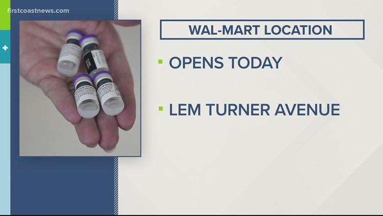 Vaccine Team: New Walmart vaccine location