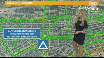 Roosevelt Boulevard detour scheduled for this weekend