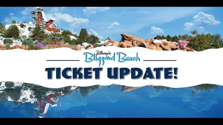 Tickets now on sale for Walt Disney World's Blizzard Beach water park