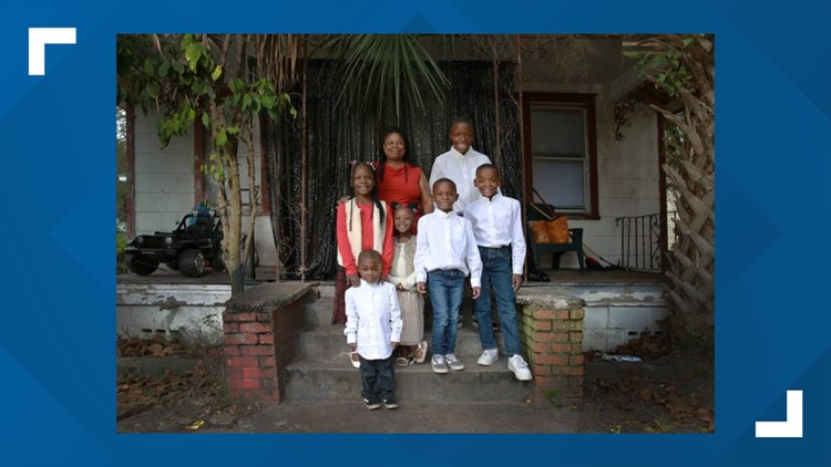 'I will be there': Jacksonville woman, 6 adopted ...