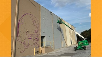 Local artists collaborate on Arlington mural showcasing the diversity of Jacksonville