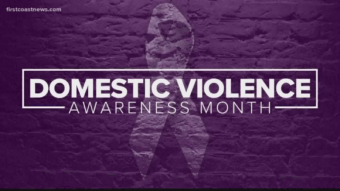 Jacksonville nonprofit educates community on domestic violence during awareness month