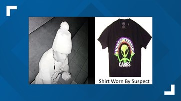 JSO looking for man wearing ironic t-shirt in connection to Westside burglary