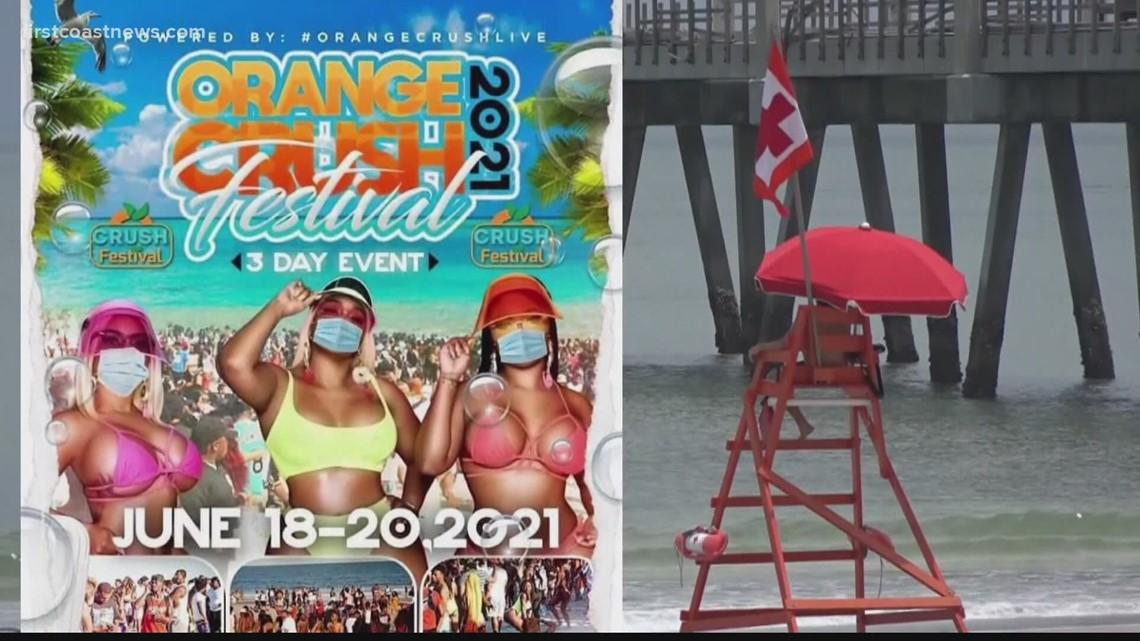 Jax Beach mayor, Orange Crush Festival organizer discuss event's preparation