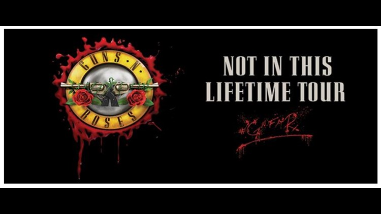 Guns N' Roses Tour making stop on the First Coast in October 落