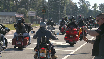 Hundreds join memorial ride in honor of fallen Clay County deputy