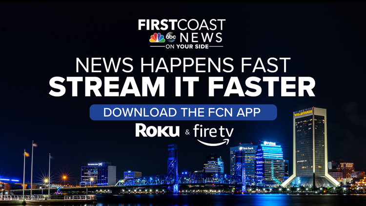 Watch First First Coast News live or stream on-demand on Fire TV