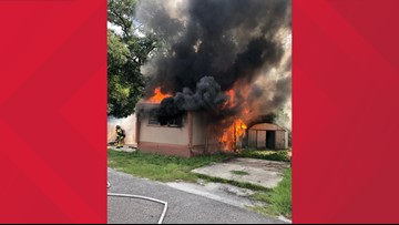 JFRD responds to mobile home fire in Brentwood