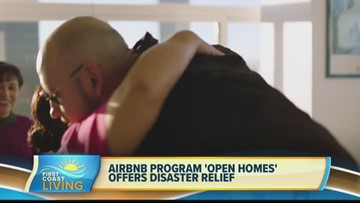 """AirBnb program """"Open Homes"""" offers disaster relief (FCL July 23rd)"""