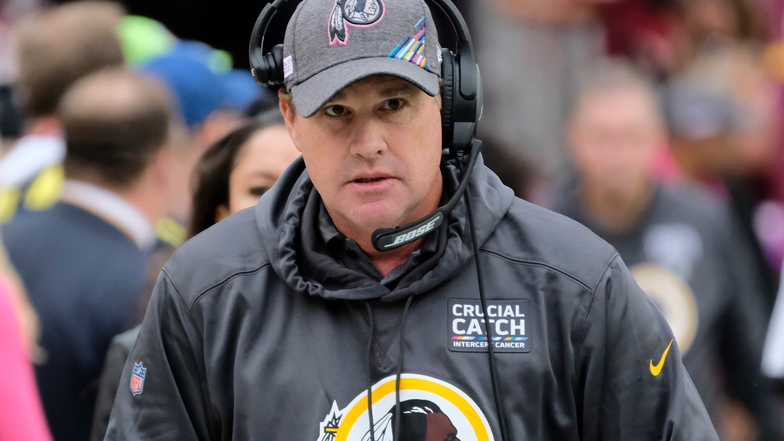 Jaguars hire Jay Gruden as offensive coordinator