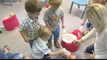 Potty training school opens here on the First Coast