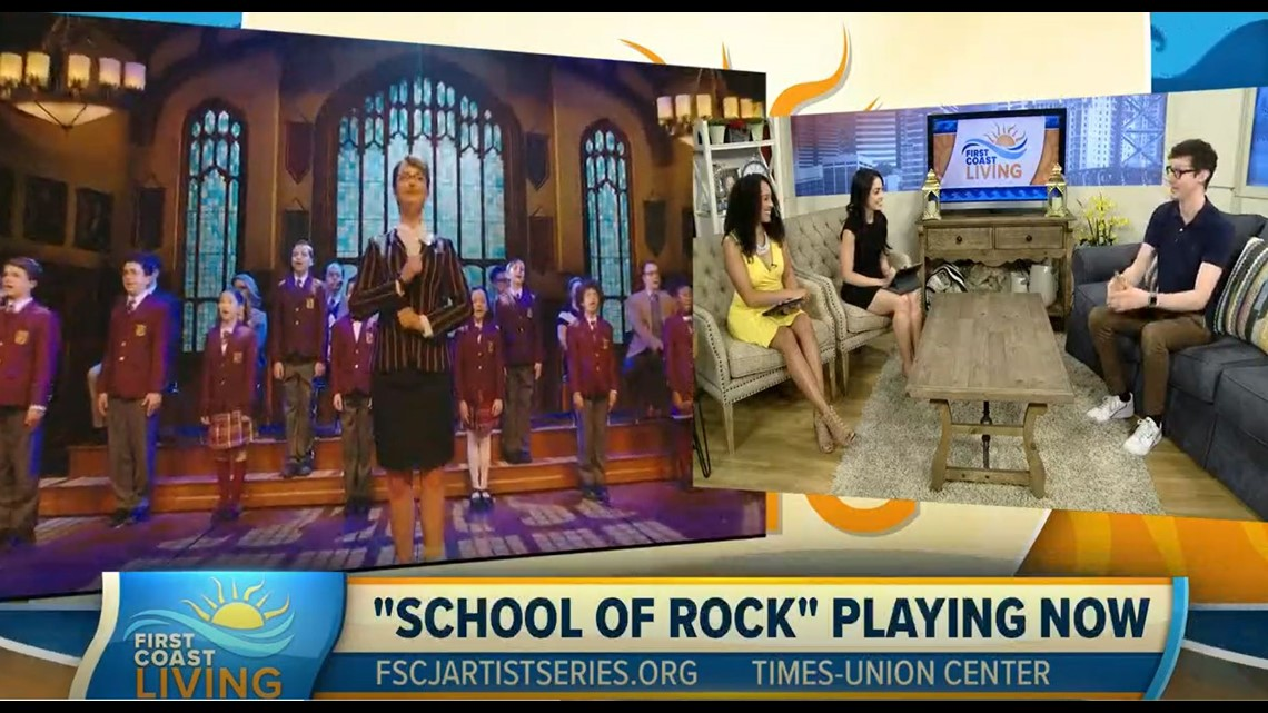 FSCJ Artist Series Presents School of Rock the Musical (FCL Apr. 18)