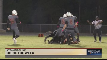 Week 8 Sideline Play and Hit of The Week