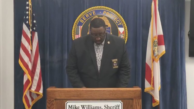 JSO held press conference regarding shooting during Terry Parker, Ribault football game