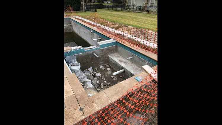 Buyer Beware: BBB gives local pool contractor F rating as problems persist