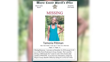 Deputies searching for south Georgia teen who may be heading to Jacksonville